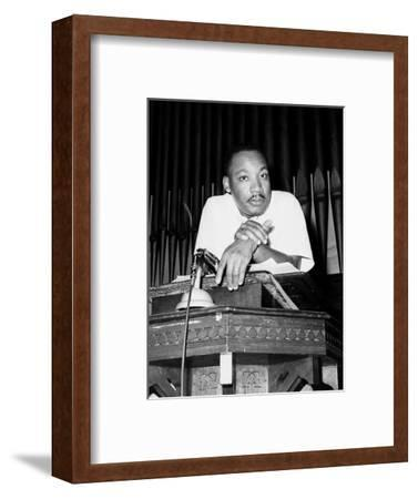 King-Horace Cort-Framed Photographic Print