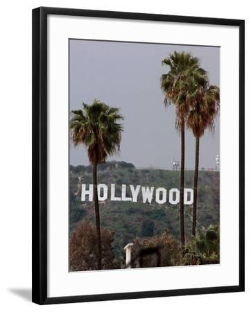 Hollywood Sign-Mark J. Terrill-Framed Photographic Print