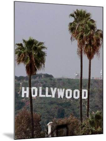 Hollywood Sign-Mark J. Terrill-Mounted Photographic Print