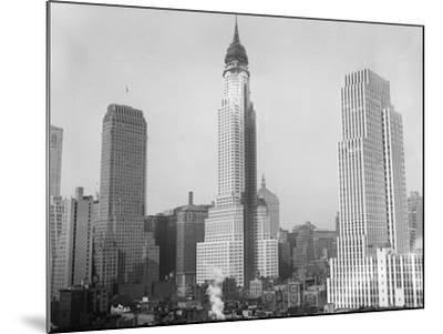 Chrysler Building 1929--Mounted Photographic Print