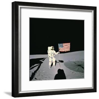 Shepard Moon Walk--Framed Photographic Print