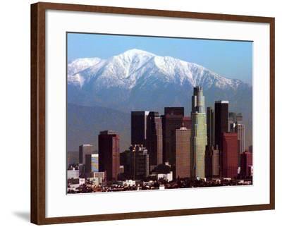 Los Angeles Mount Baldy-Nick Ut-Framed Photographic Print