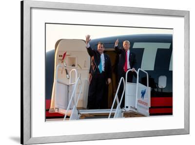 GOP 2016 Trump-Andrew Harnik-Framed Photographic Print