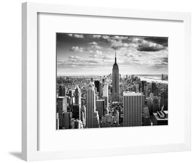 NYC Downtown-Nina Papiorek-Framed Photographic Print