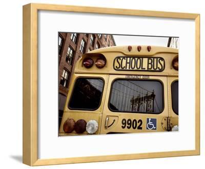 NYC School Bus-Nina Papiorek-Framed Photographic Print