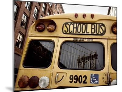 NYC School Bus-Nina Papiorek-Mounted Photographic Print
