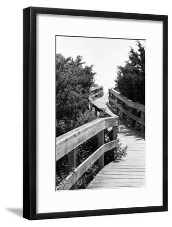 To the Beach-Jeff Pica-Framed Photographic Print
