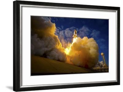 Space Shuttle Atlantis--Framed Photographic Print