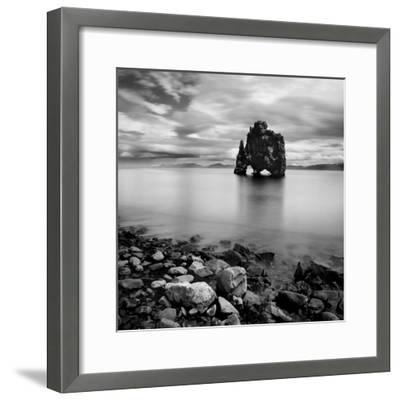 Iceland Dinosaur-Nina Papiorek-Framed Photographic Print