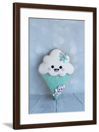 Snowcone Cookie--Framed Photographic Print