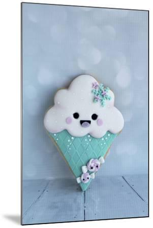 Snowcone Cookie--Mounted Photographic Print