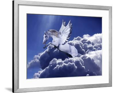 Fantasy Horses 18-Bob Langrish-Framed Photographic Print