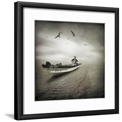 Cello Sophia-Moises Levy-Framed Photographic Print