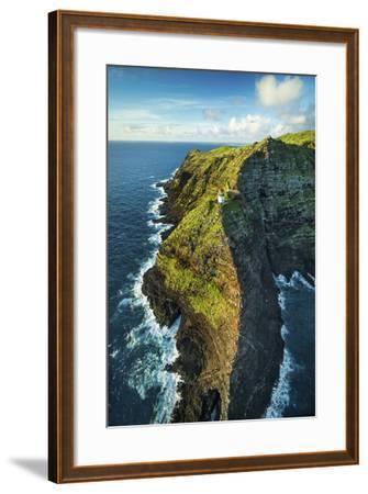 Makapu'u Lighthouse-Cameron Brooks-Framed Photographic Print