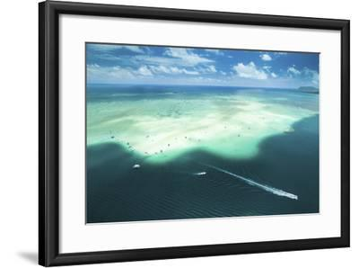 Sandbar Cruiser-Cameron Brooks-Framed Photographic Print