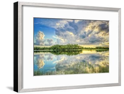 Everglades Sunset-Dennis Goodman-Framed Photographic Print
