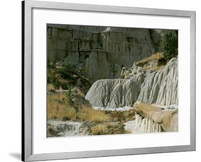 Theodore Roosevelt National Park-Gordon Semmens-Framed Photographic Print