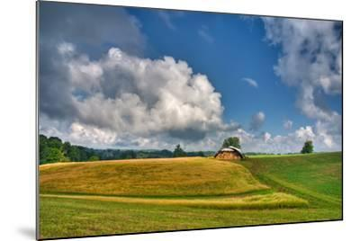 Hay Field-Bob Rouse-Mounted Photographic Print