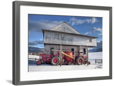 Winter at the Mill-Bob Rouse-Framed Photographic Print