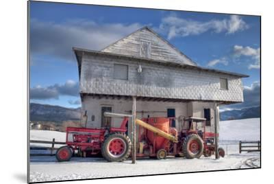 Winter at the Mill-Bob Rouse-Mounted Photographic Print