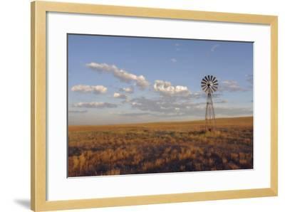 South Leunberger Windmill at Sunset-Amanda Lee Smith-Framed Photographic Print