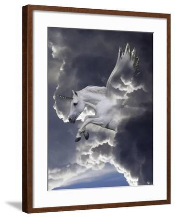 Unicorn 62-Bob Langrish-Framed Photographic Print