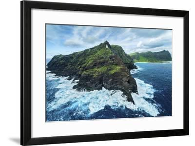 The Horn of Makapu'u-Cameron Brooks-Framed Photographic Print