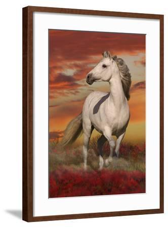 Fantasy Horses 38-Bob Langrish-Framed Photographic Print