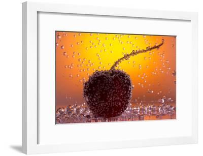 Cherry Underwater-Gordon Semmens-Framed Photographic Print