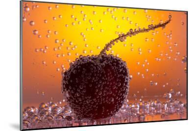Cherry Underwater-Gordon Semmens-Mounted Photographic Print