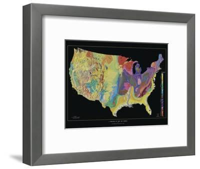 A Tapestry of Time and Terrain--Framed Photographic Print
