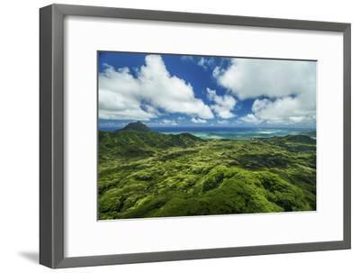 Kualoa Jungles-Cameron Brooks-Framed Photographic Print