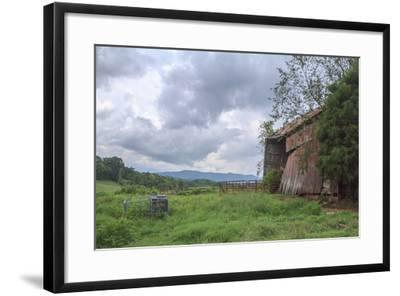 Mayberry Barn 2-Bob Rouse-Framed Photographic Print