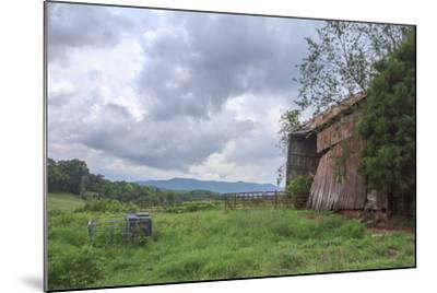 Mayberry Barn 2-Bob Rouse-Mounted Photographic Print