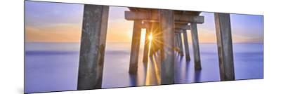 Naples Pier Panoramic II-Moises Levy-Mounted Photographic Print