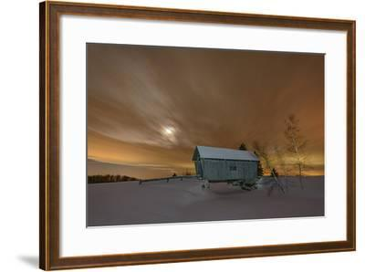 Winter Glow-Michael Blanchette-Framed Photographic Print