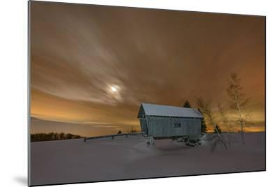 Winter Glow-Michael Blanchette-Mounted Photographic Print