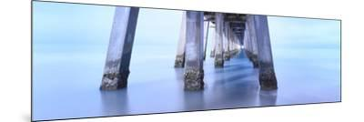 Naples Pier Morning-Moises Levy-Mounted Photographic Print