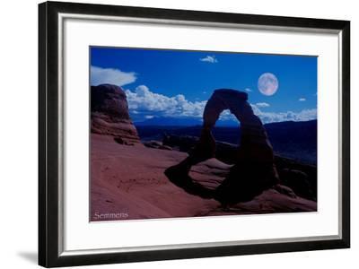 Arches-Gordon Semmens-Framed Photographic Print
