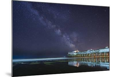 Pier in the Stars-Michael Blanchette-Mounted Photographic Print
