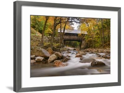 The Flume Bridge-Michael Blanchette-Framed Photographic Print