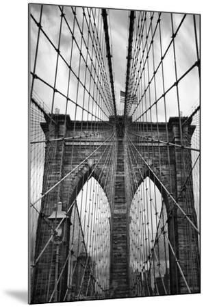 Brooklyn Bridge Mood-Jessica Jenney-Mounted Photographic Print
