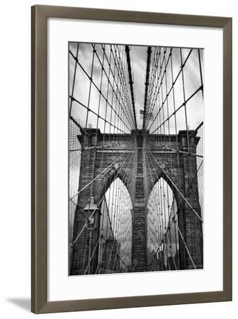 Brooklyn Bridge Mood-Jessica Jenney-Framed Photographic Print