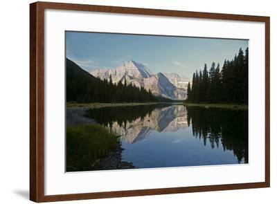 Glacier Z-Gordon Semmens-Framed Photographic Print