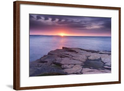 Granite Markings-Michael Blanchette-Framed Photographic Print