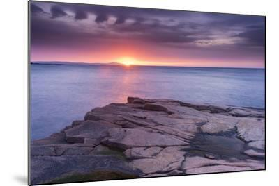 Granite Markings-Michael Blanchette-Mounted Photographic Print