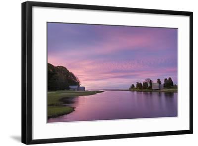 Morn at Salt Pond-Michael Blanchette-Framed Photographic Print