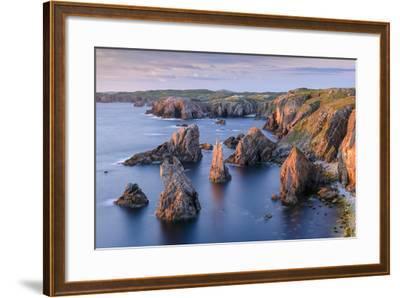 Mangersta Stacks-Michael Blanchette-Framed Photographic Print