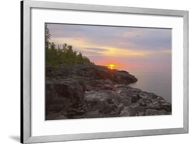 North Shore 2-Gordon Semmens-Framed Photographic Print