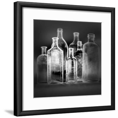 Glass Bottles-Moises Levy-Framed Photographic Print